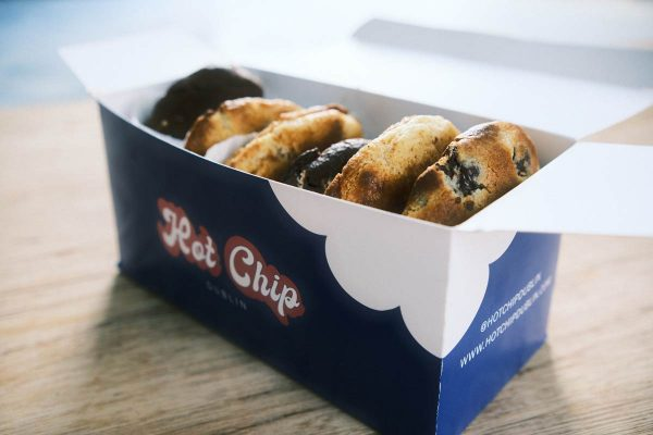 baked cookie box